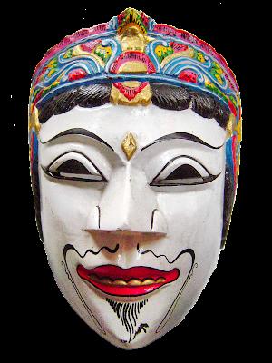 Gambar Topeng Tradisional Jawa Timur Malang Seni Budaya Indonesia