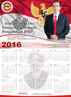 Cetak Kalender Cagub