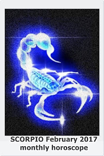 SCORPIO February 2017 monthly horoscope forecast