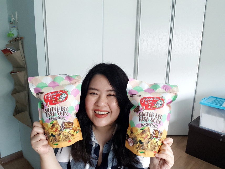 OBeauty Fish: Salted Egg Fish Skin chips review!