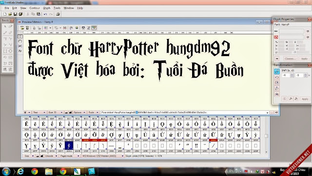 [Fancy] Harry Potter Việt hóa