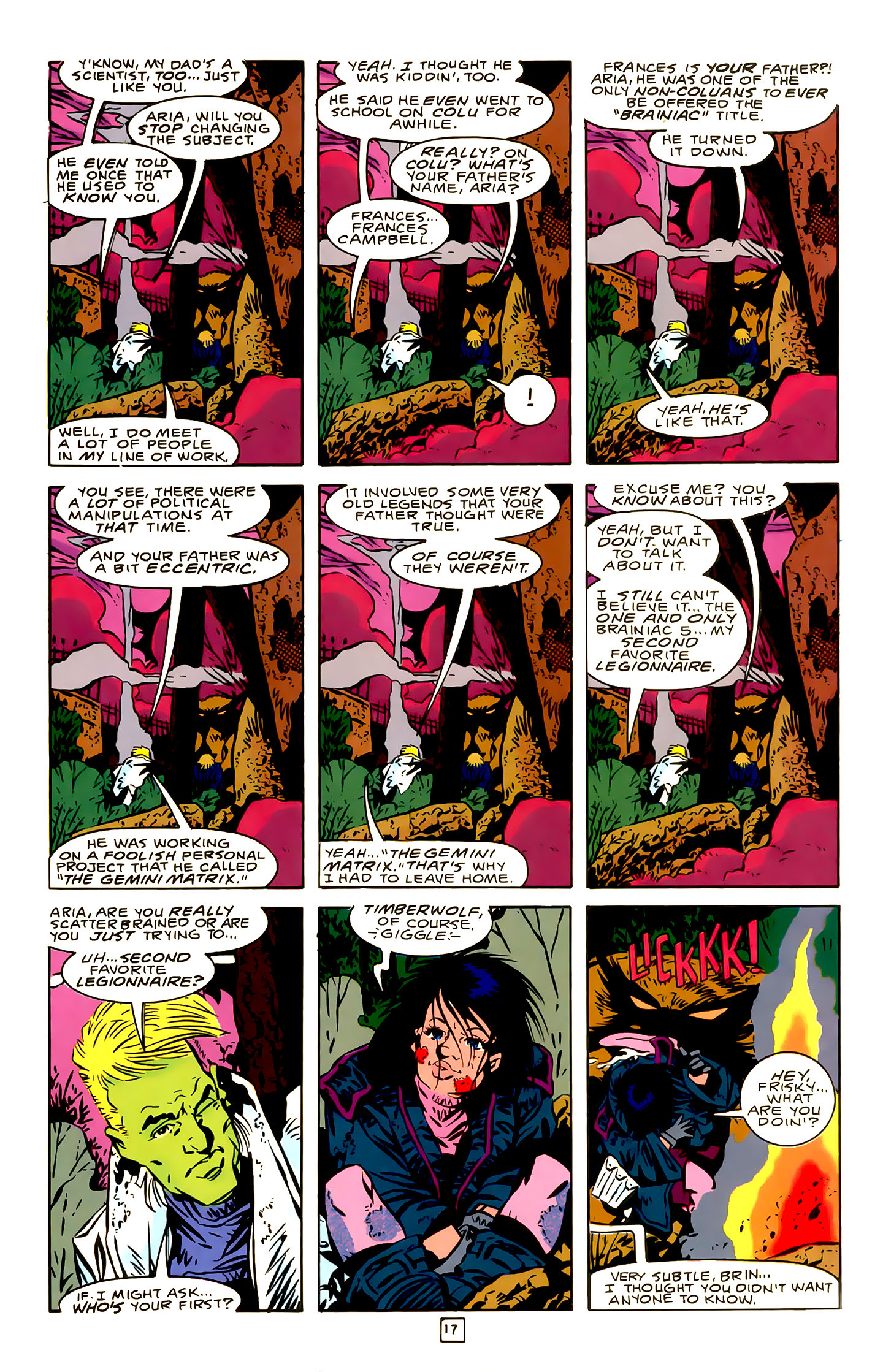 Legion of Super-Heroes (1989) 22 Page 17