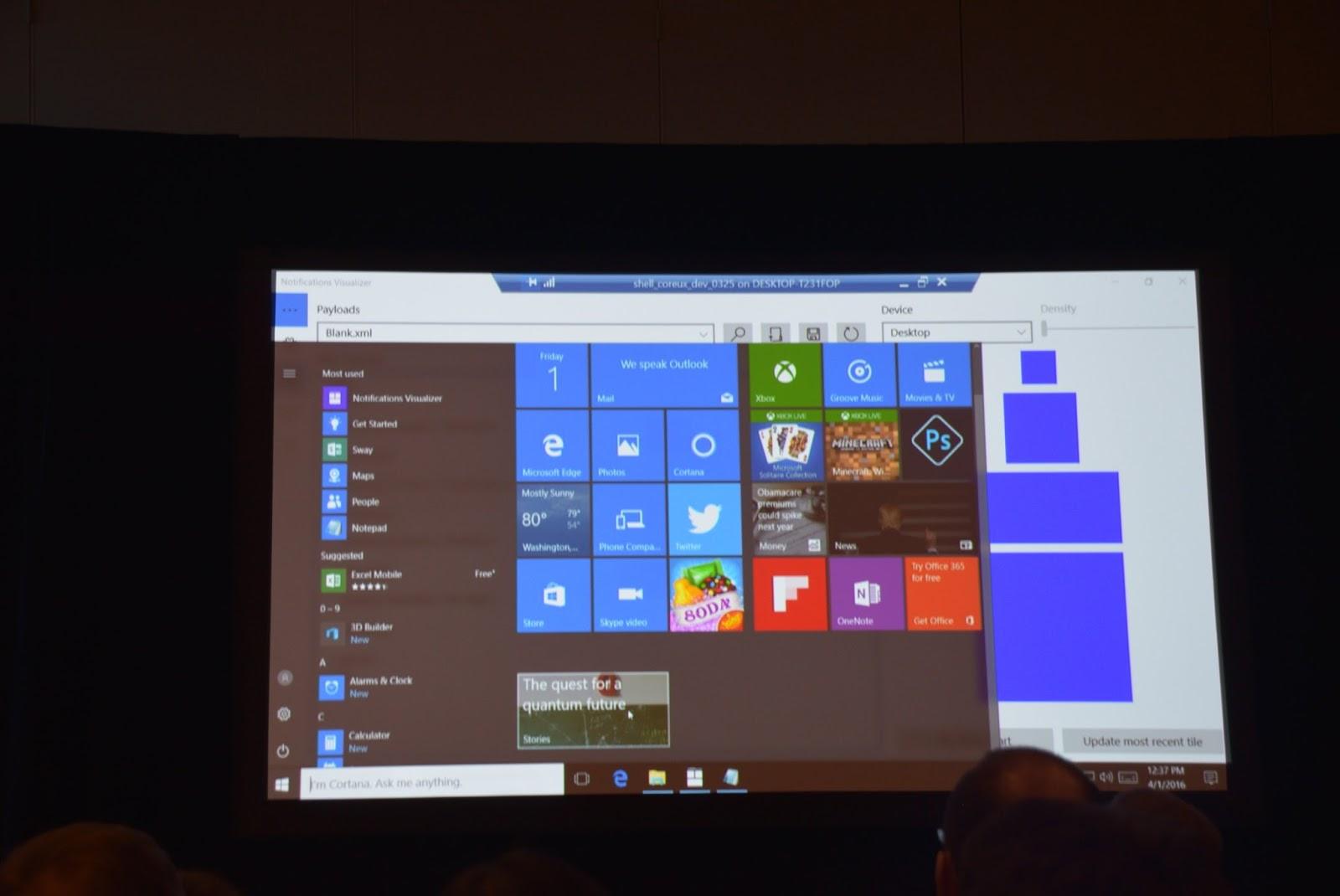 Windows 10: arrivano le Chaseable Live Tiles 2 HTN