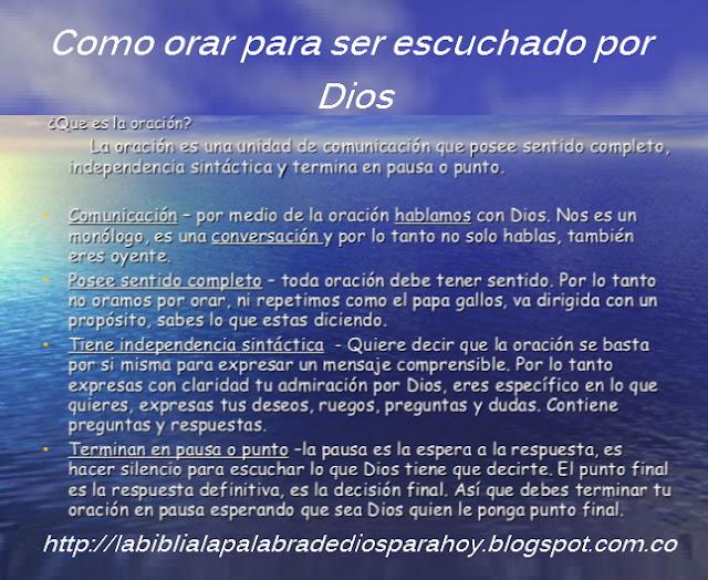 Como orar para ser escuchado por Dios-Salmos-116-1-2