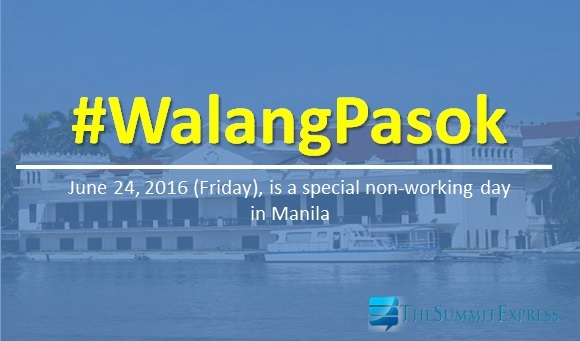 Palace declares class suspension in Manila this June 24