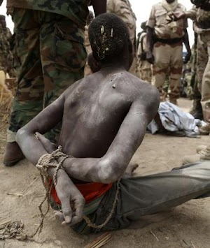 Boko Haram Commander finally captured in LG Chairman's House in Borno State by our Army's