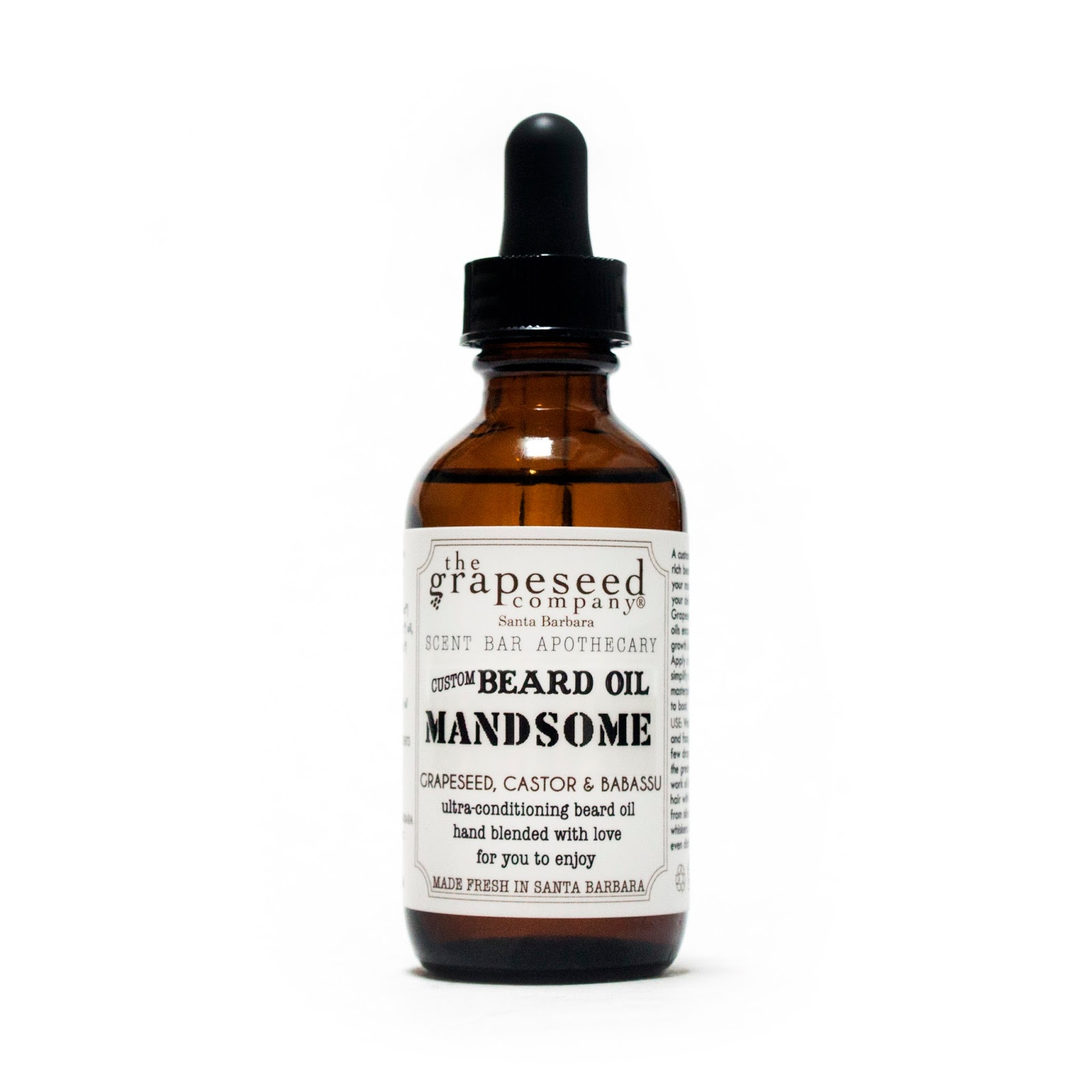a70b8996bf6c Our new beard grooming oil with a custom scent blend and name or your  choice in 2.3oz amber glass bottle. Perfect for those dad s with mustaches  or mandible ...