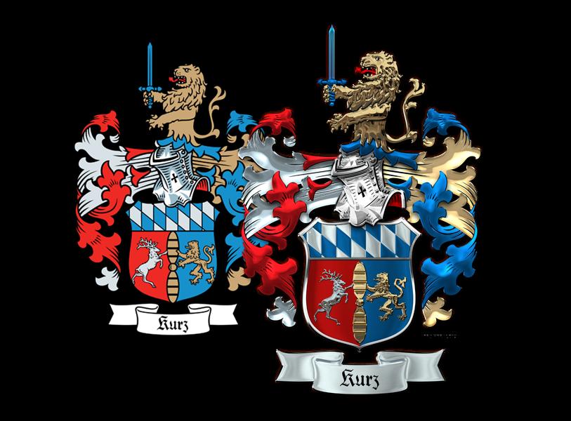 Heraldry workshop kurz family coat of arms for pro heraldica for Pro heraldica