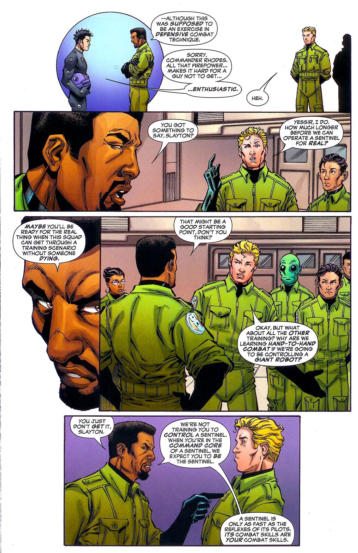Read online Sentinel Squad O*N*E comic -  Issue #2 - 8