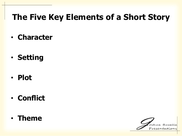 Five key elements of writing a short story