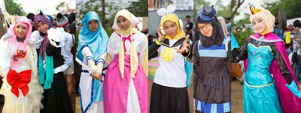 Anime Hijab Cosplay Japanese Twitter Shows Quot Muslim Lolita Fashion Now A Trend