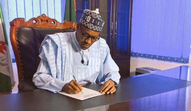 Buhari signs executive order to prevent foreigners from getting jobs Nigerians can do