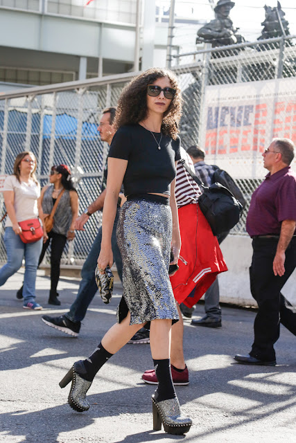 Salones con calcetines street style