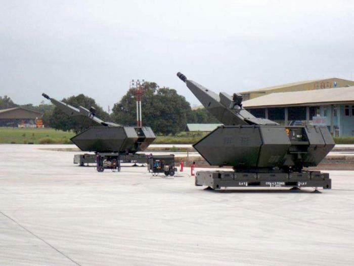 Senjata anti udara Oerlikon Skyshield TNI AU