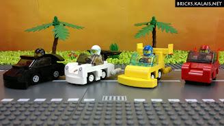 [MOC] Samochody z Micro Dream Race