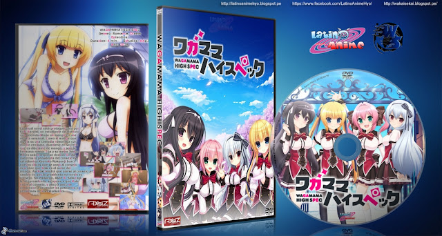 Wagamama High Spec | 12/12 | Cover DVD | Mkv HD | MEGA |
