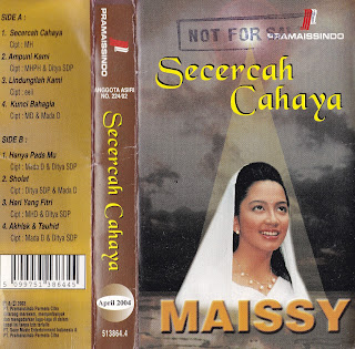maissy album secercah cahaya http://www.sampulkasetanak.blogspot.co.id