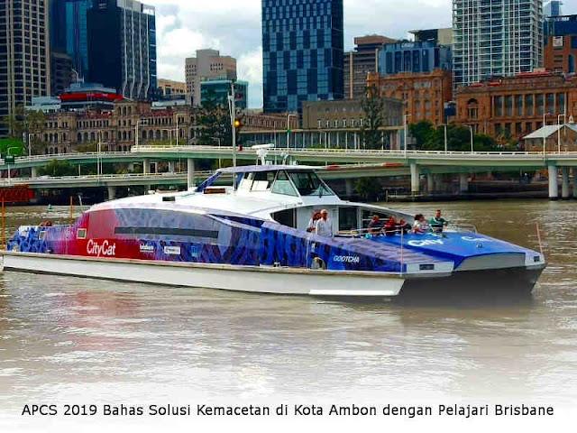 APCS 2019 Bahas Solusi Kemacetan di Kota Ambon dengan Pelajari Brisbane