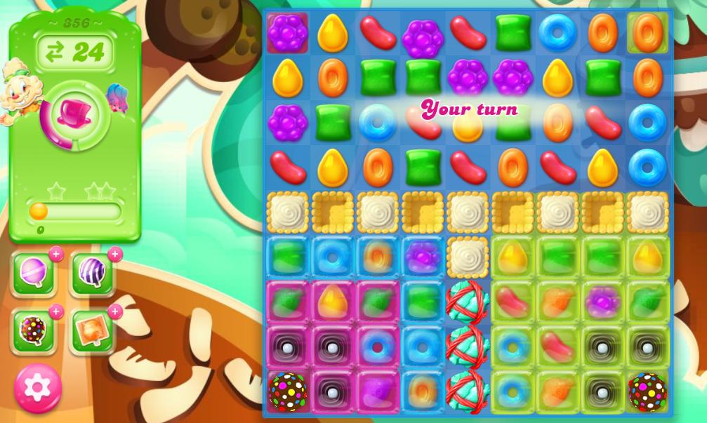 Candy Crush Jelly Saga 356