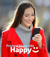 Logo Vodafone Happy 2018: ricarica, accumula sorrisi e ricevi premi sicuri!