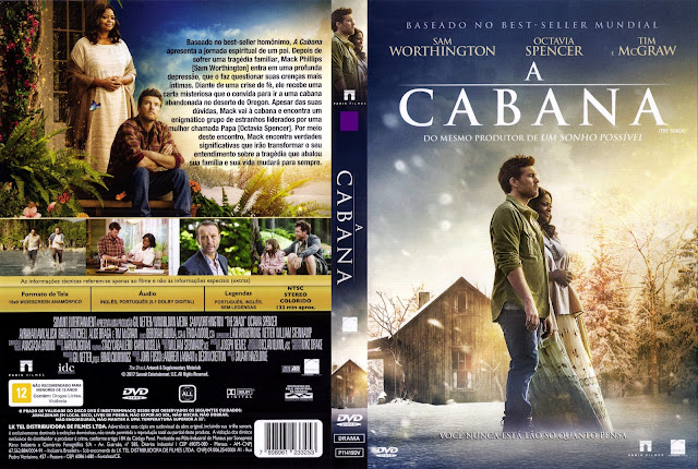 Capa DVD A Cabana (Oficial)