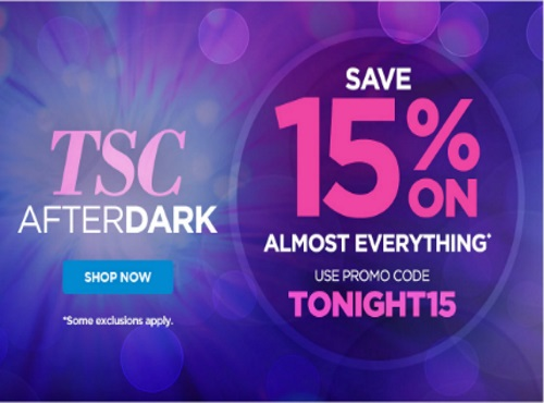 The Shopping Channel 15% Off After Dark Promo Code