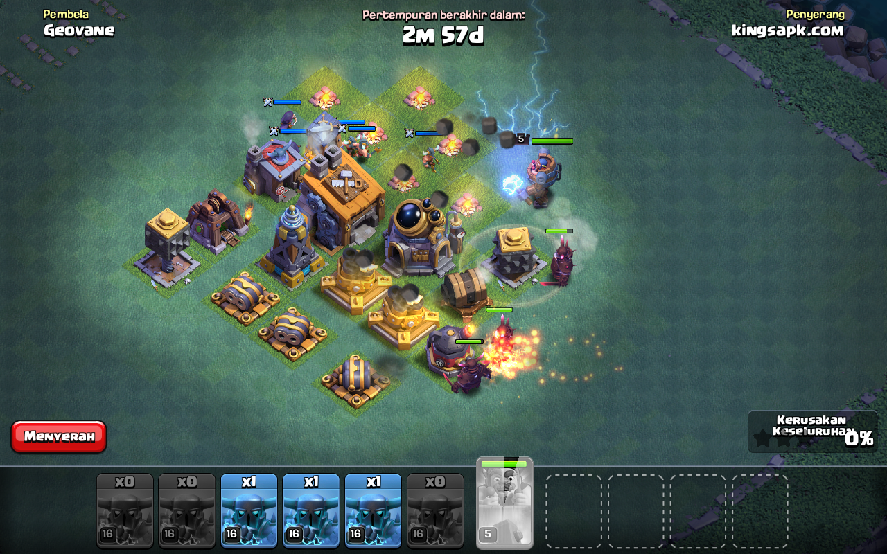 Download Clash Of Nulls COC MOD APK terbaru