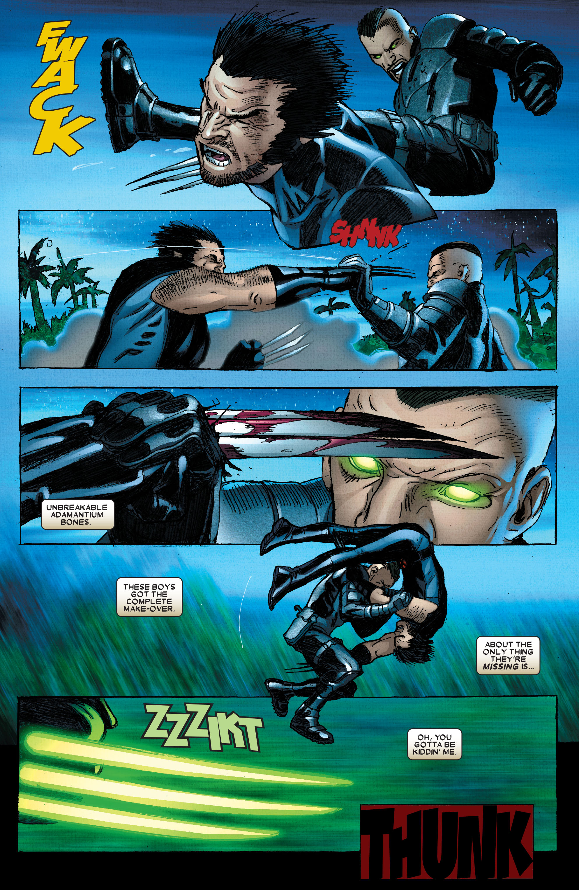 Read online Wolverine: Weapon X comic -  Issue #2 - 16