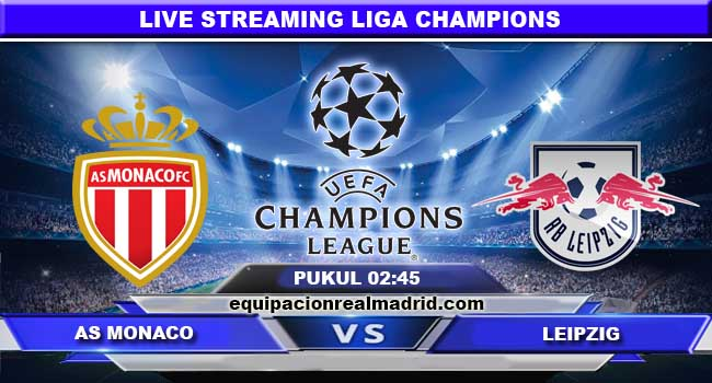 live streaming Monaco vs Leipzig 22 november 2017