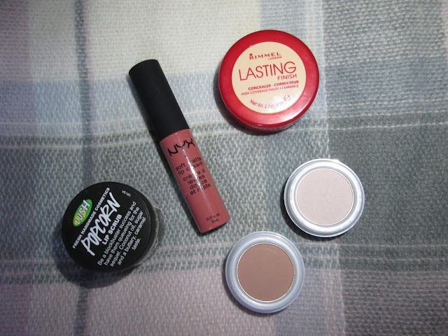 Lush Rimmel NYX Natural Collection
