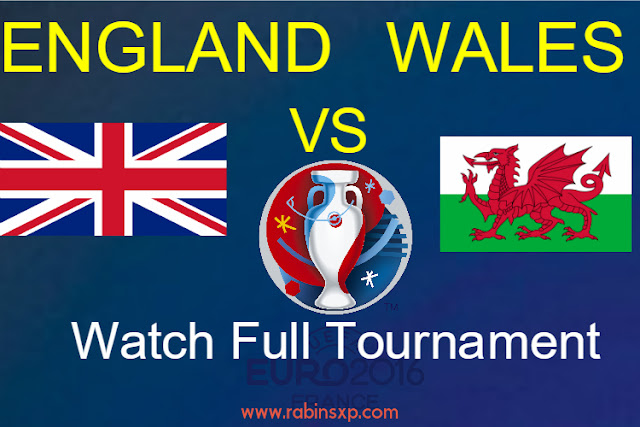 England Vs Wales Football Tournament-  Euro Cup 2016