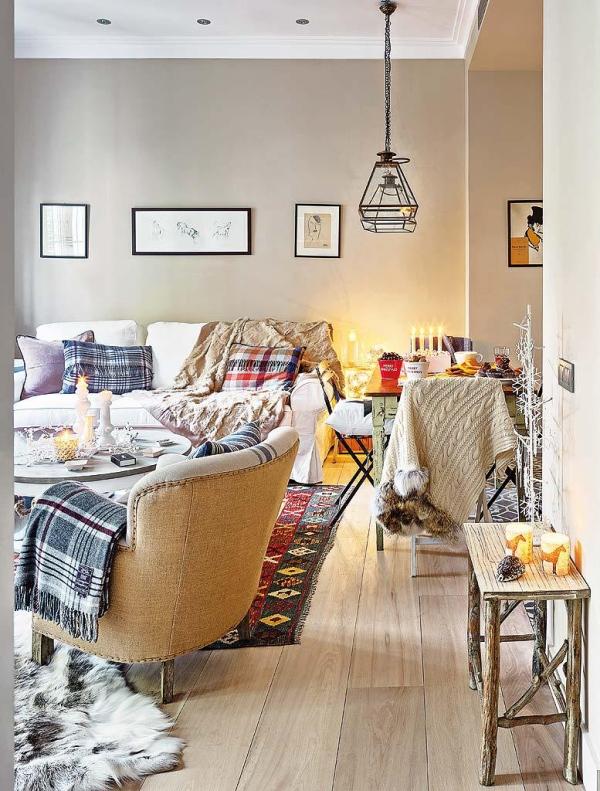 Appartamento luminoso e country chic case e interni for Case stile americano interni