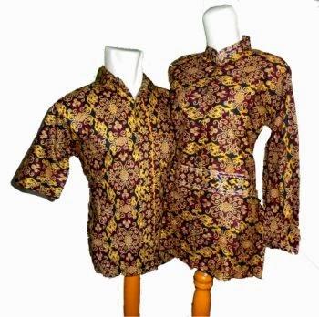 model baju batik sarimbit songket