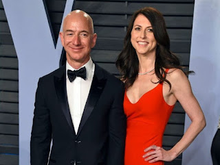 Jeff Bezos And Wife Set To Divorce After 25years of Marriage