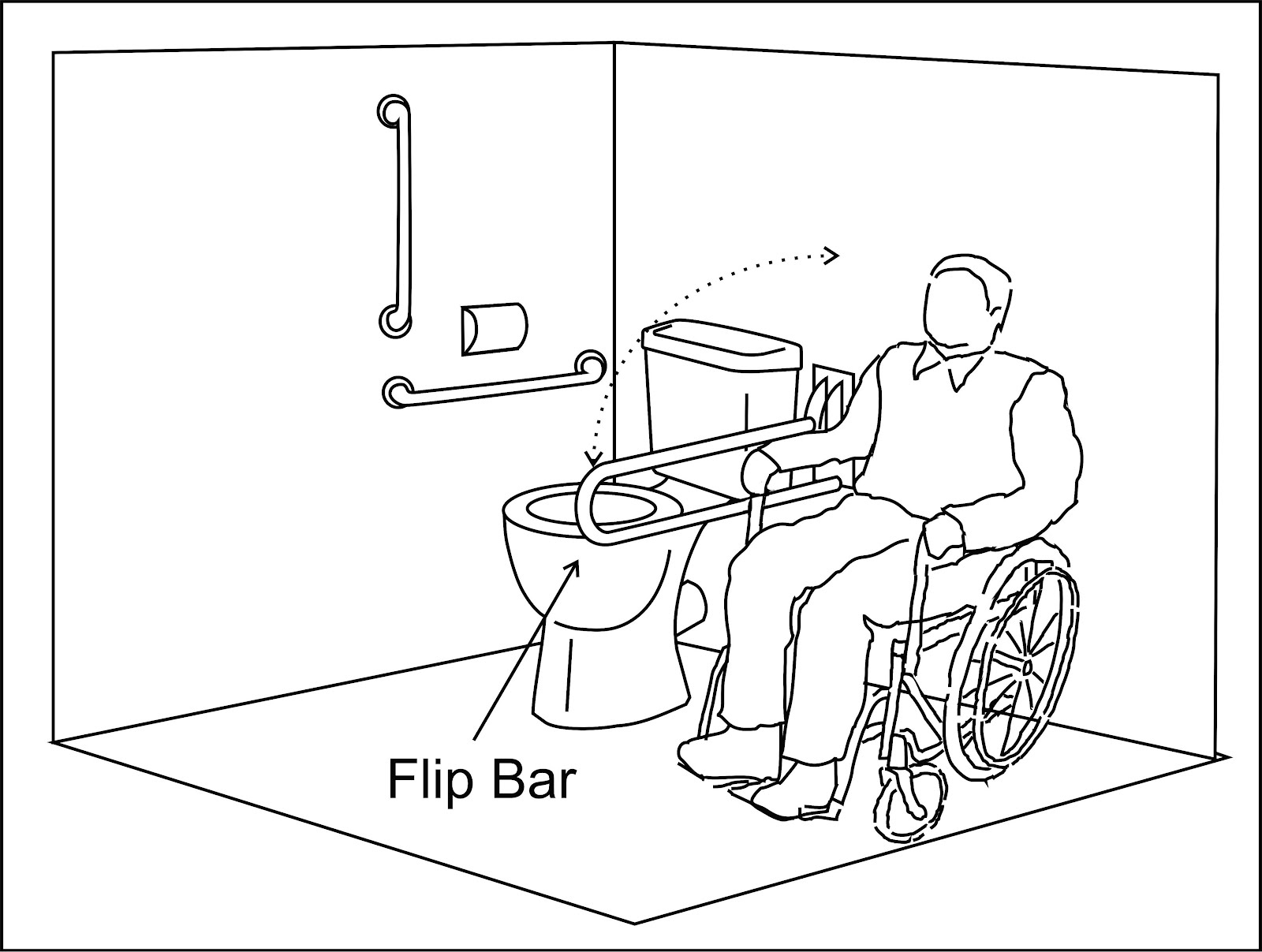 wheelchair access penang wapenang toilet wc for disabled people. Black Bedroom Furniture Sets. Home Design Ideas