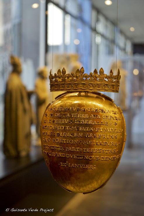 Corazón de Ana de Bretaña, Museo Dobrèe - Nantes, por El Guisante Verde Project