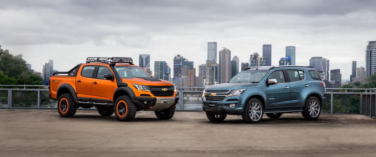 Chevrolet Teases 2017 Trailblazer Facelift With Premier Study