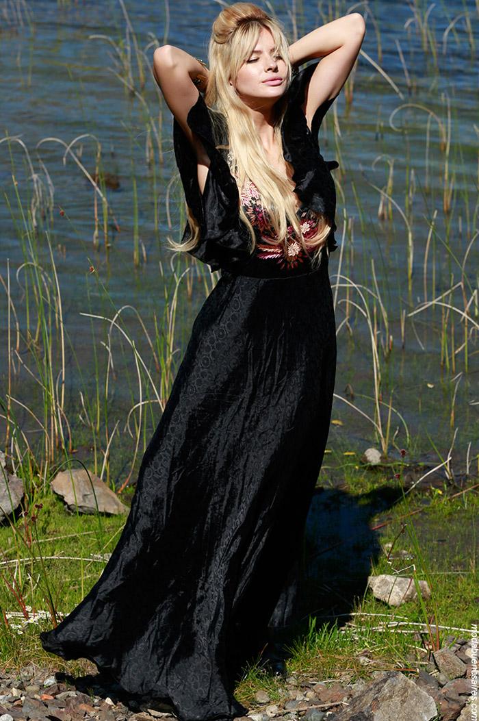 Vestidos largos otoño invierno 2019 ropa de mujer boho.