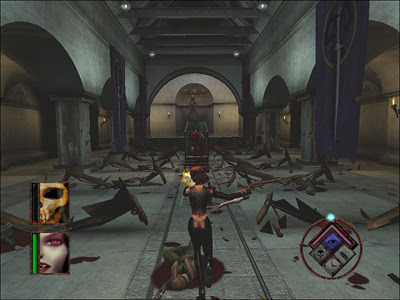 Horror And Zombie Film Reviews Movie Reviews Horror Videogame Reviews Bloodrayne 2003 Horror Videogame