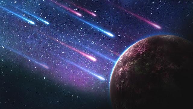 ribuan asteroid jatuh ke Bumi dalam peristiwa Lunar Cacalysm