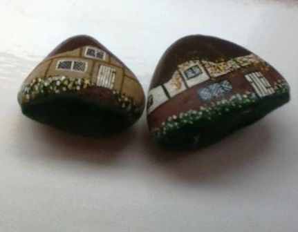 4 membuat rumah mainan dari batu