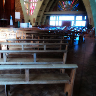 Interior da Igreja Matriz de Urubici