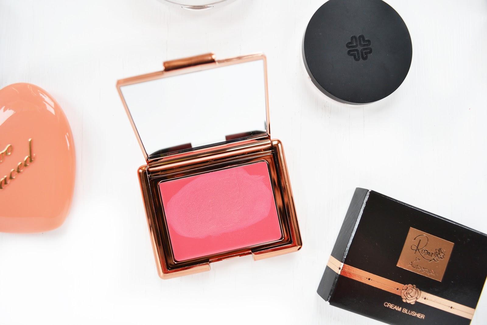 coral pink blush