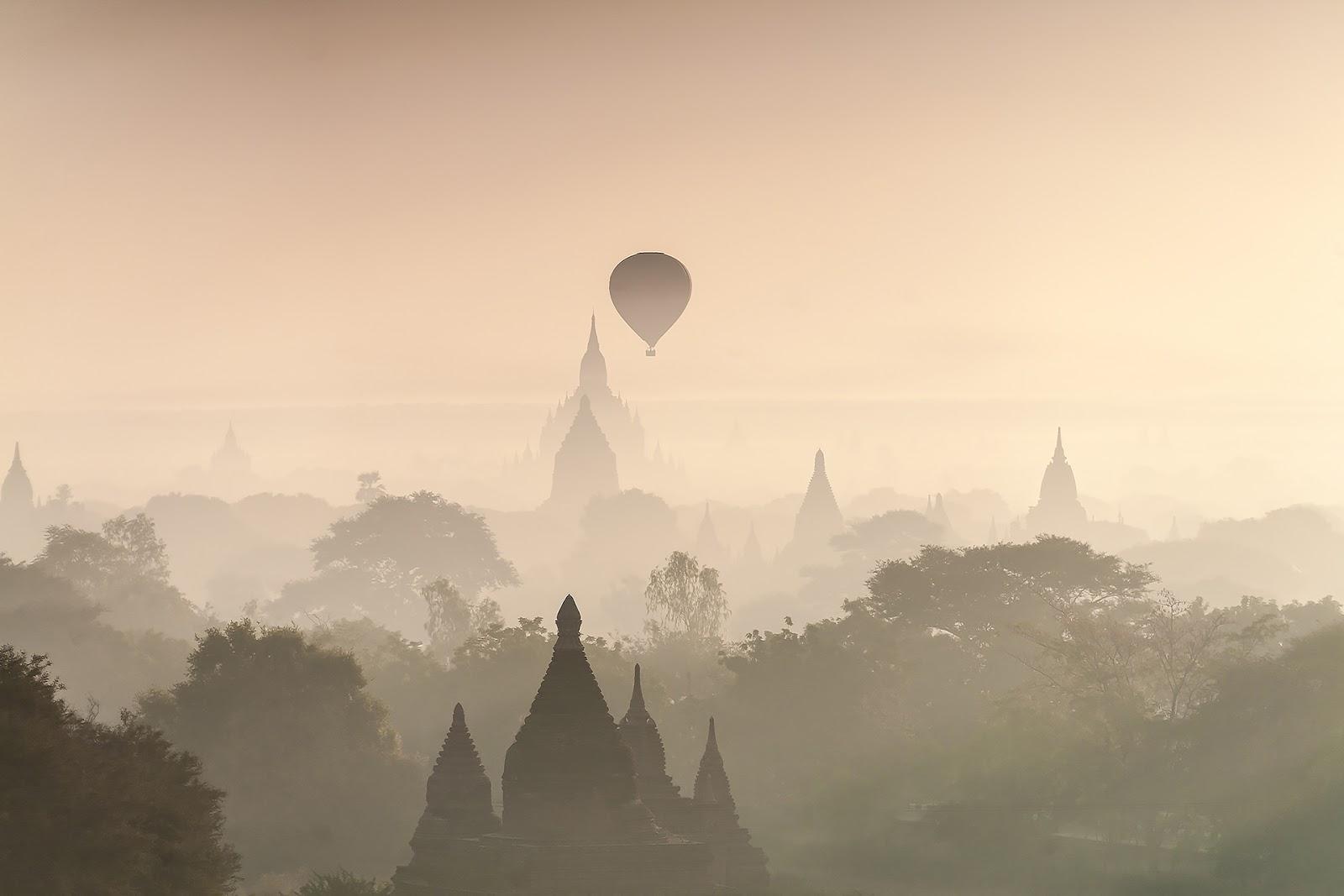 balony,bagan,birma,pagody