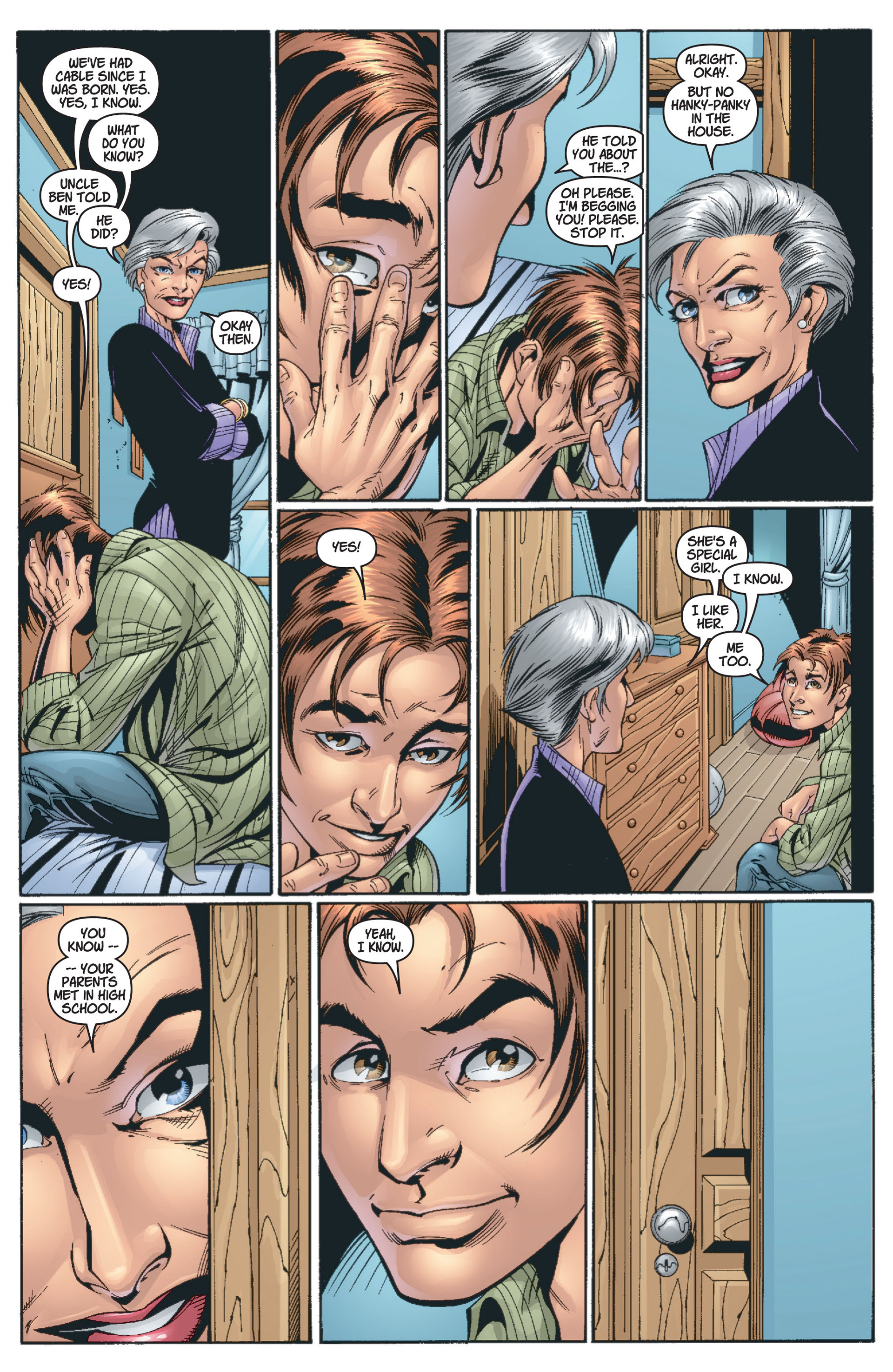 Read online Ultimate Spider-Man (2000) comic -  Issue #13 - 22