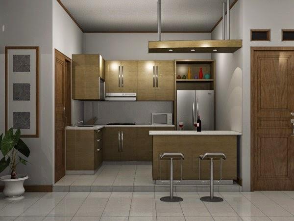 Desain dapur minimalis moderen kecil