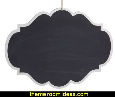 Decorative Hanging Chalkboard