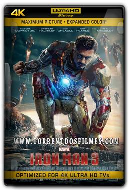 Homem de Ferro 3 (2013) Torrent - BluRay 4K 1080p Dual Áudio