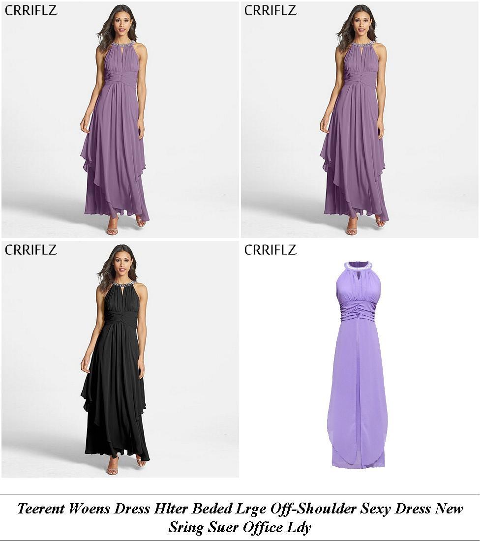 Junior Prom Dresses - Sale Off - Denim Dress - Cheap Designer Clothes Womens