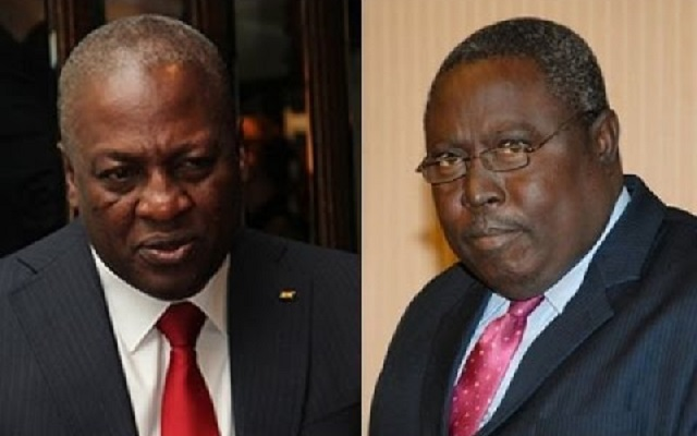 Ex-President John Mahama (Left) And Martin Amidu (Right) - Former Attorney-General and Minister for Justice